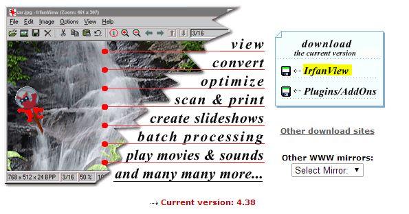 birt 4.2 IrfanView télécharger