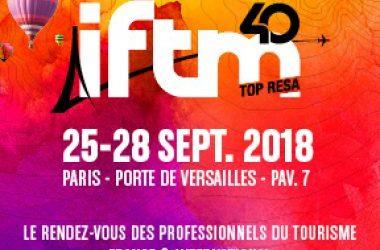 Nous serons à l'IFTM Top Resa 2018